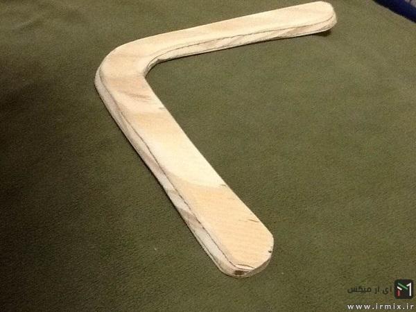 بومرنگ چوبی