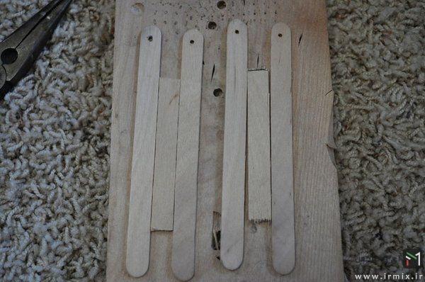 ساخت چاقو چوبی