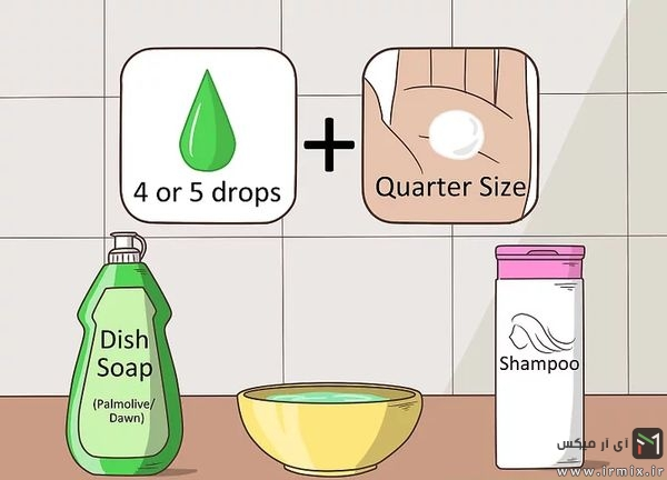 مایع ظرفشویی و شامپو