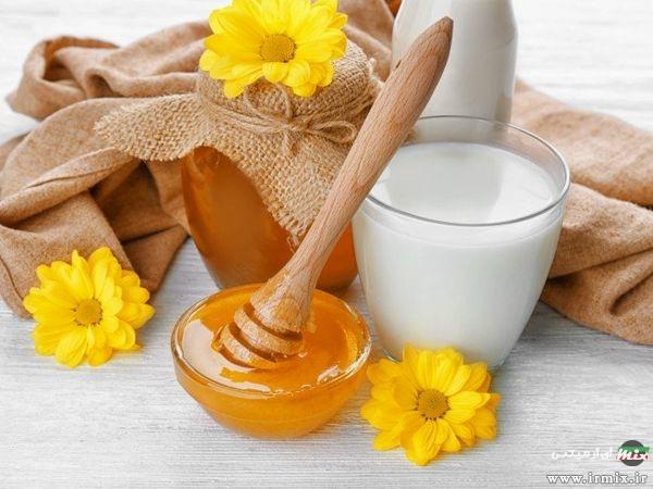 ترکیب شیر و عسل
