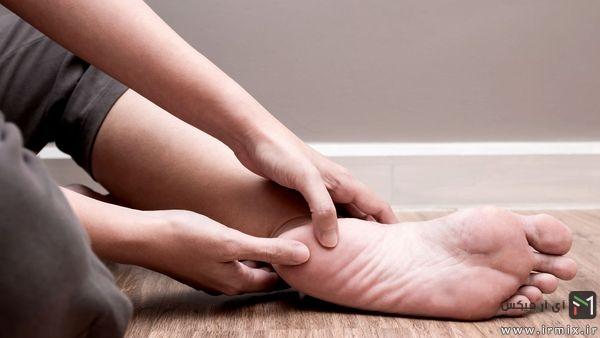درمان درد پاشنه پا در طب سنتی