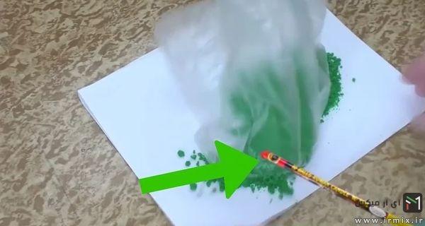 آموزش ساخت بمب دودزا رنگی فارسی