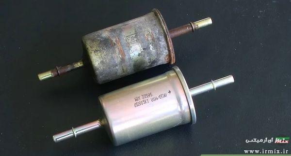 نصب فیلتر بنزین جدید بر روی خودرو