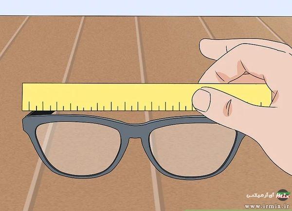 اعداد روی دسته عینک آفتابی
