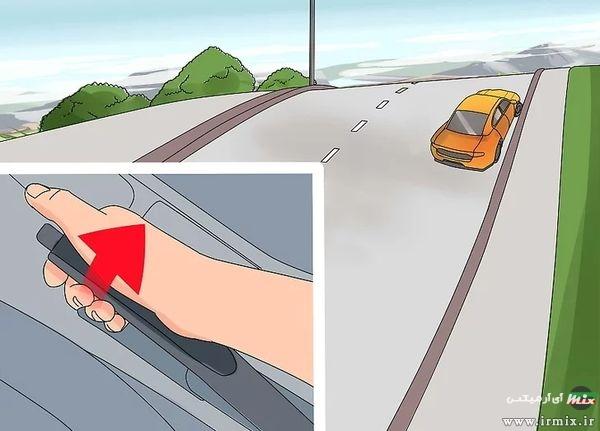 روش پارک کردن در سربالایی