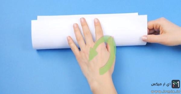 نصف کردن کاغذ