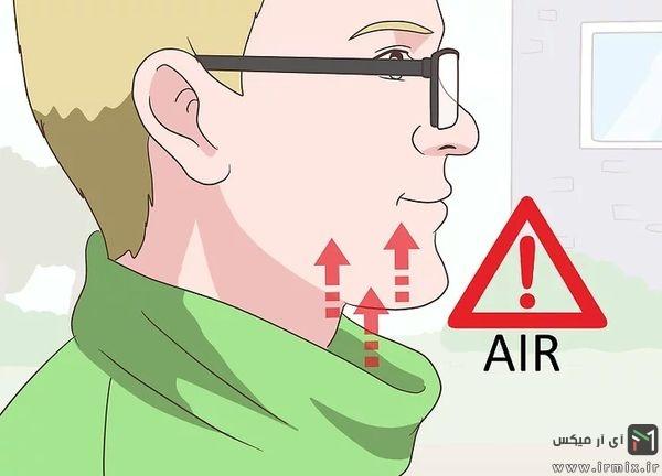 رفع بخار شیشه عینک
