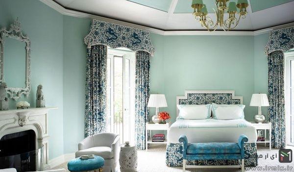 بهترین رنگ های اتاق خواب بزرگسالان