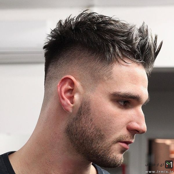 Spiky Quiff Haircut