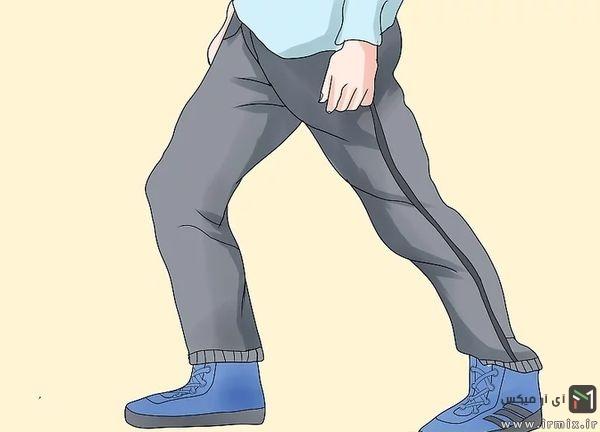 آموزش قدم به قدم رقص شافل