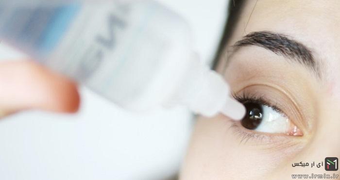 ریختن قطره در چشم