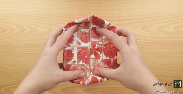 مثلثی کردن گوشه ها