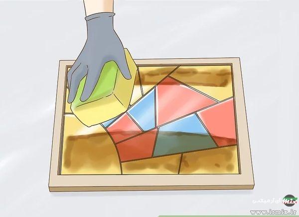 روش مات کردن شیشه