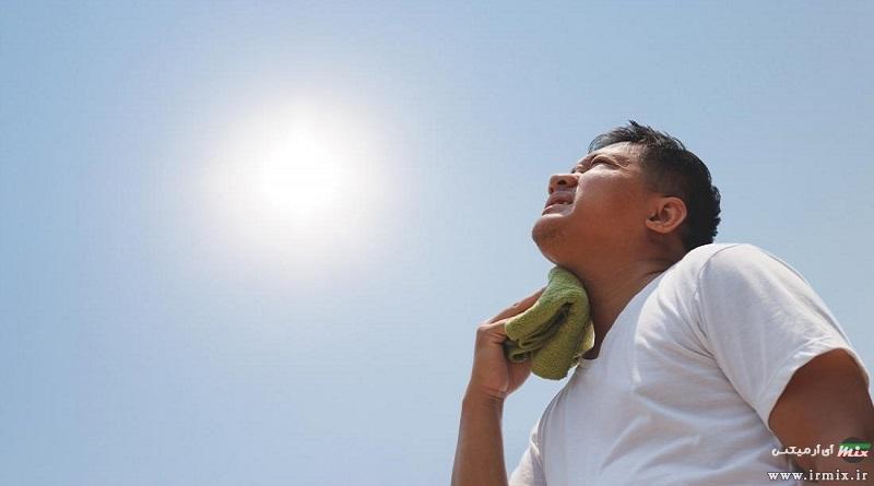 علت گرمای زیاد بدن چیست؟ آموزش راه های کاهش دمای بدن