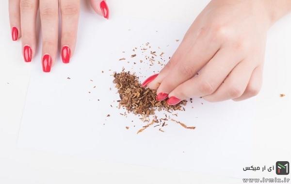 طرز تهیه تنباکو میوه ای