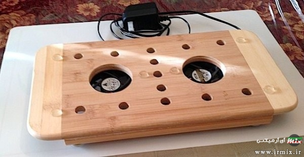 ساخت کول پد چوبی