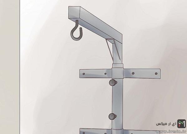 آموزش نحوه صحیح آویزان کردن و نصب کیسه بوکس به سقف خانه