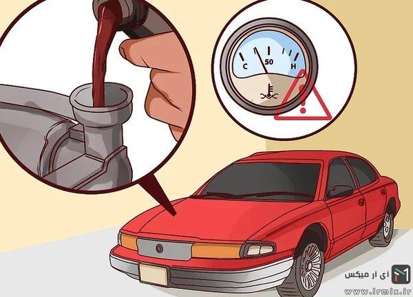 دمای خودرو