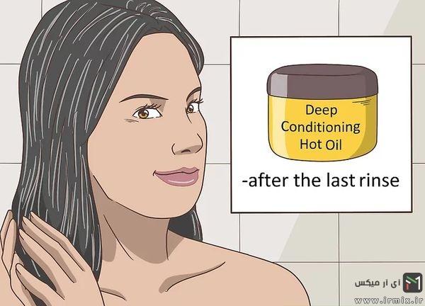 چگونه دکلره کنیم که مو نسوزد