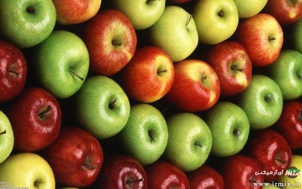 سیب برای زیبایی جنین