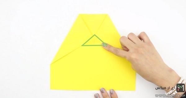 ساخت موشک کاغذی خفاشی
