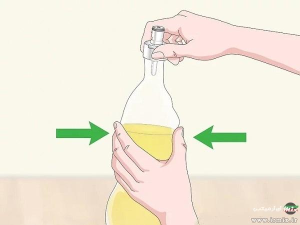 گازدار کردن نوشیدنی