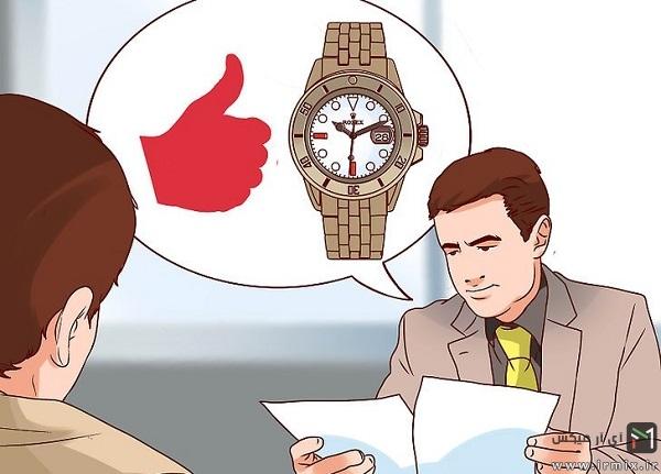 تشخیص ساعت اصل از تقلبی