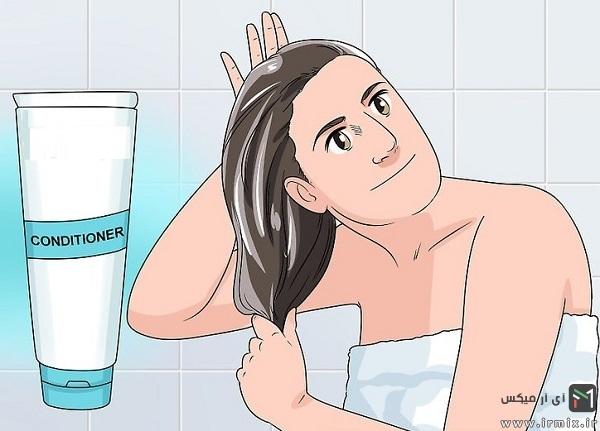 جلوگیری از فر شدن مو