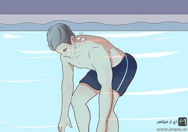 تمرین آب درمانی برای زانو و کمر درد