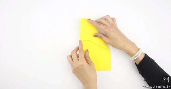 ساخت موشک کاغذی حرفه ای