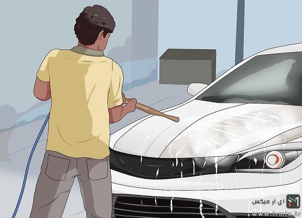 پولیش ماشین در خانه