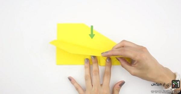ساخت موشک کاغذی سریع