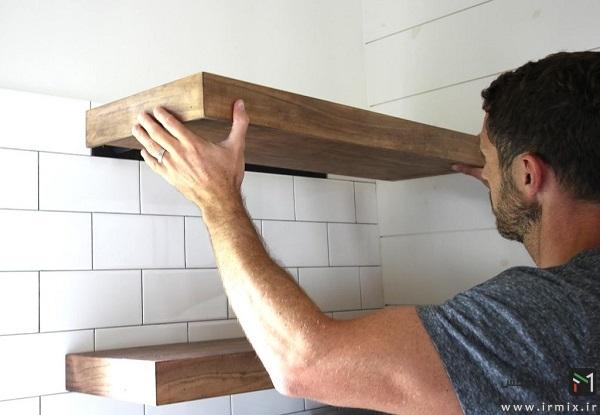آموزش ساخت شلف دیواری