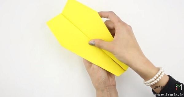 ساخته شدن موشک زرد رنگ
