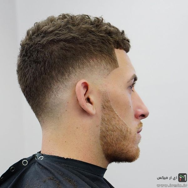Cool Short Curly Haircut + Drop Fade