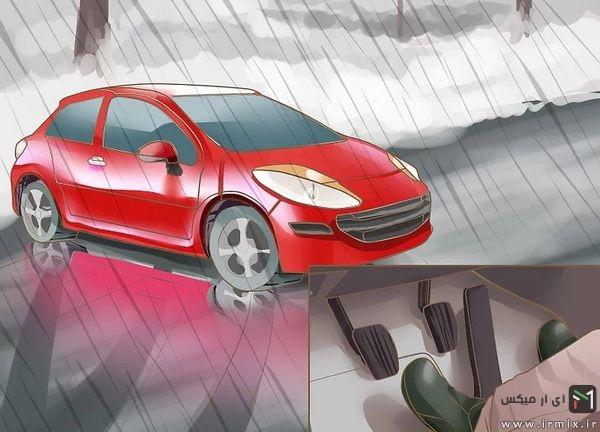 رانندگی در باران،