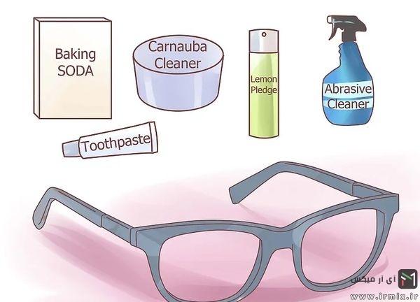 عینک آبی و انواع پاک کننده