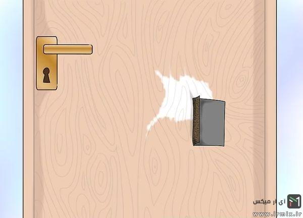 سمباده و تعمیر درب