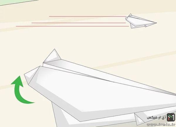 تا زدن انتهای بال هواپیما