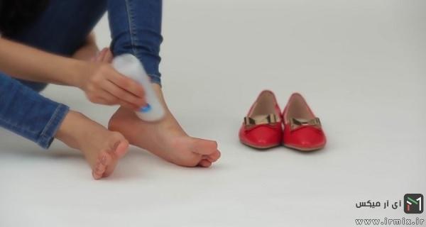 راه های جلوگیری از پا زدگی کفش