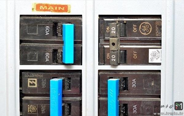 جلوگیری از نوسان برق و سوختن وسایل برقی با جعبه فیوز