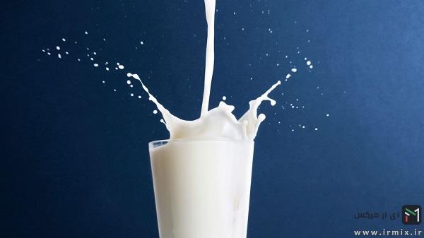 تشخیص شیر خراب و تاریخ گذشته از شیر سالم