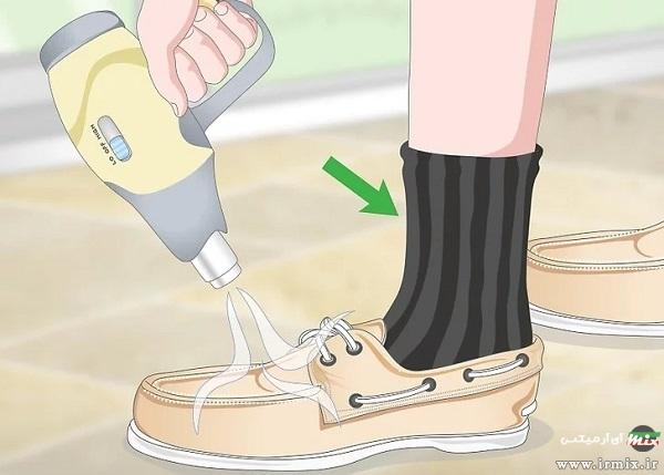 نرم کردن کفش