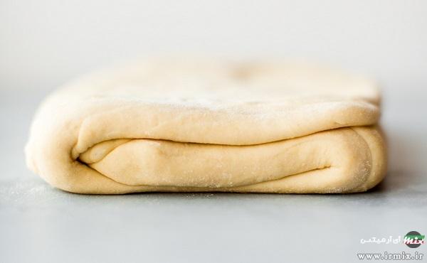 تهیه نان کروسان خانگی هزارلا