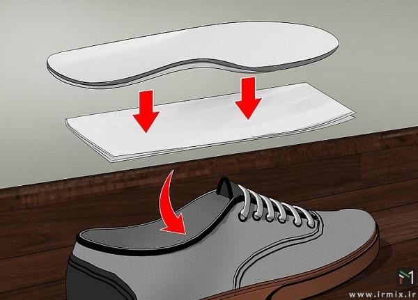 صدا دادن کفش