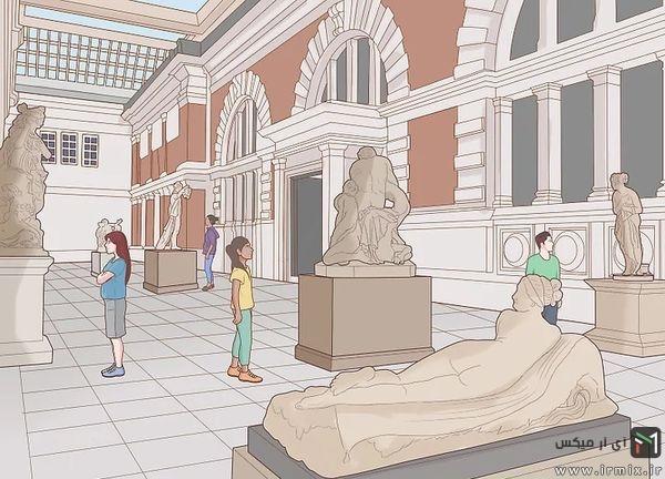 بازدید مردم از موزه
