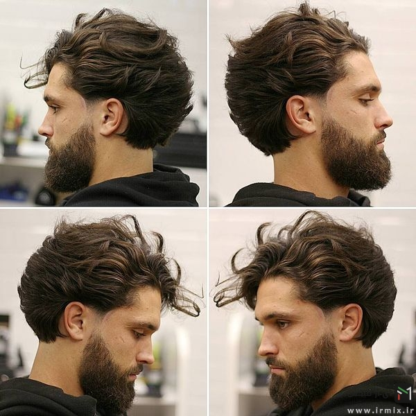 Long Hairstyle For Men + Beard