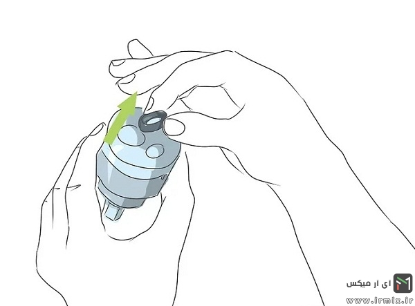 روش تعمیر شیر اهرمی با مغزی سرامیکی