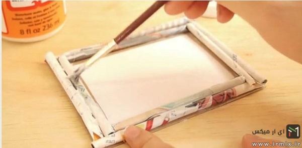 آموزش ساخت قاب عکس چوبی