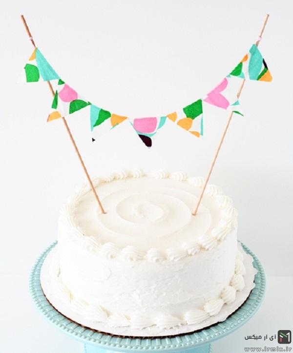 آموزش ساخت استند اسم برای تم کیک تولد